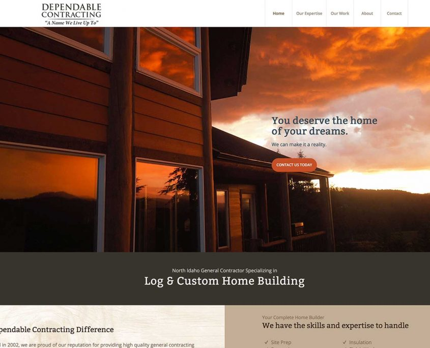 Dependable Contracting